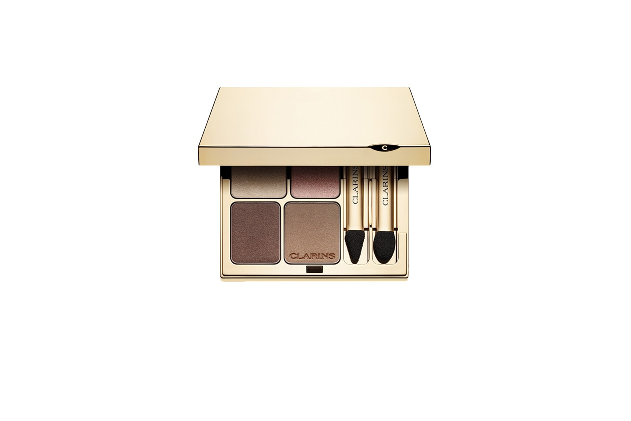 Beauty dree hemingway Clarins Occhi Ombre Minerale 4 Colour nude
