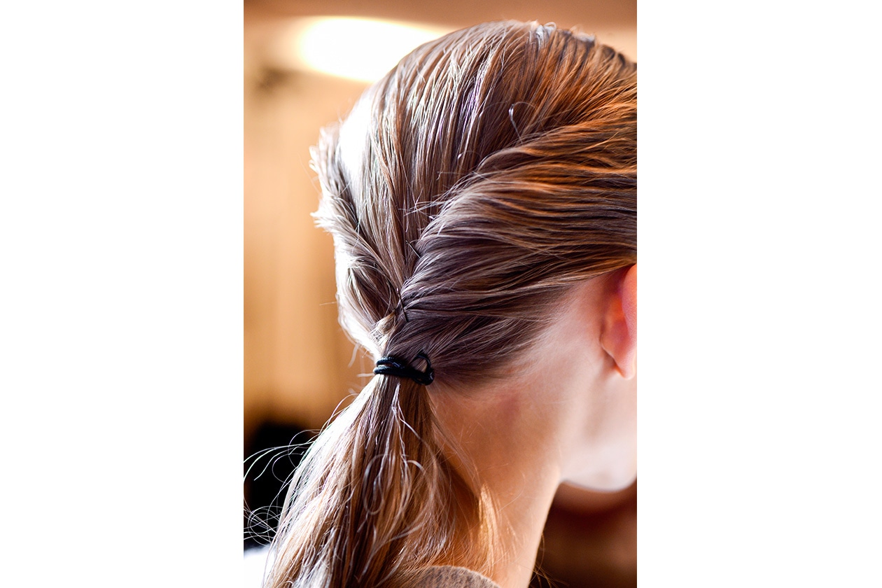 Beauty raccolti easy ponytail Barbara Bui ham W F13 P 001