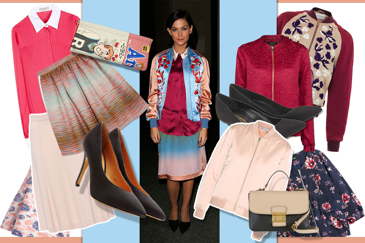Fashion Get the Look Bomber Look 00 Cover collage