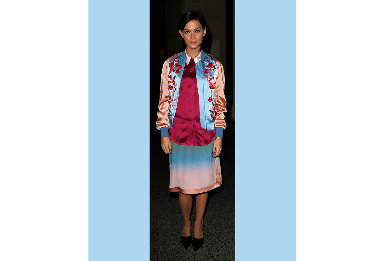 Fashion Get the Look Bomber Look 01 Leigh Lezark