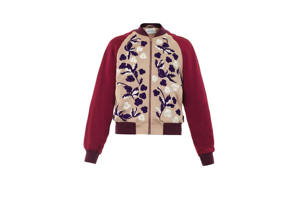 Fashion Get the Look Bomber Look Bomber Jonathan Saunders