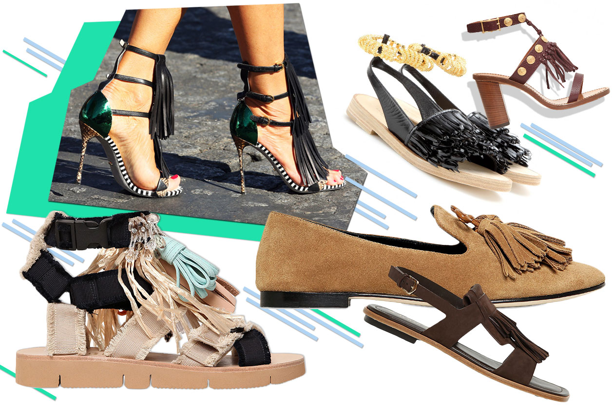 Fashion Che scarpe metto Fringed