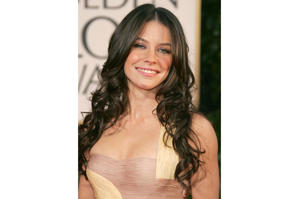 L'attrice ama il viola shimmer dall'effetto super luminoso (2007)