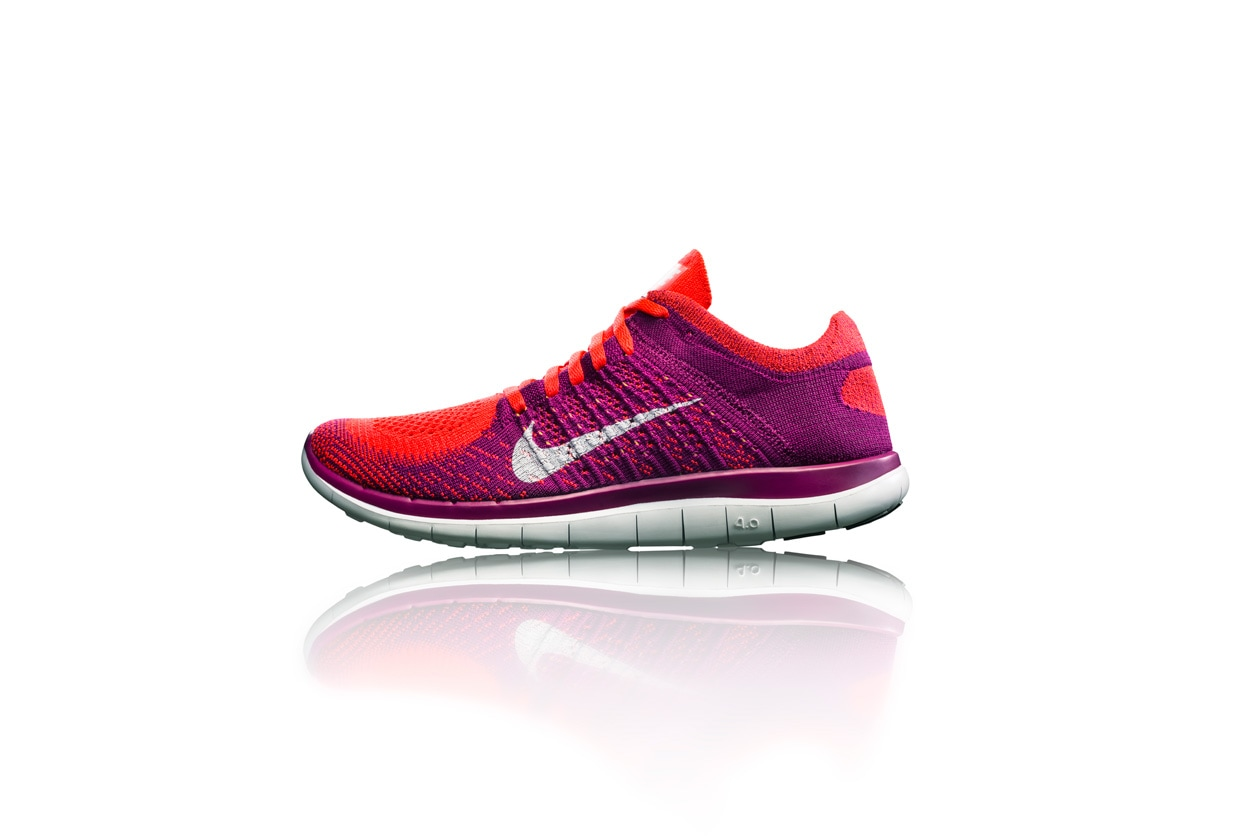 Nike Free 4.0 womens side profile 28068