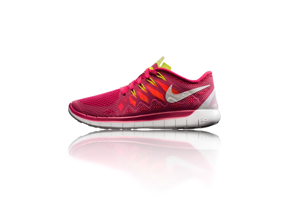 Nike Free 5.0 womens side profile 28054
