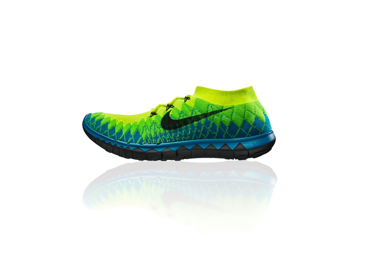 Nike Free Flyknit 3.0 mens side profile 28057