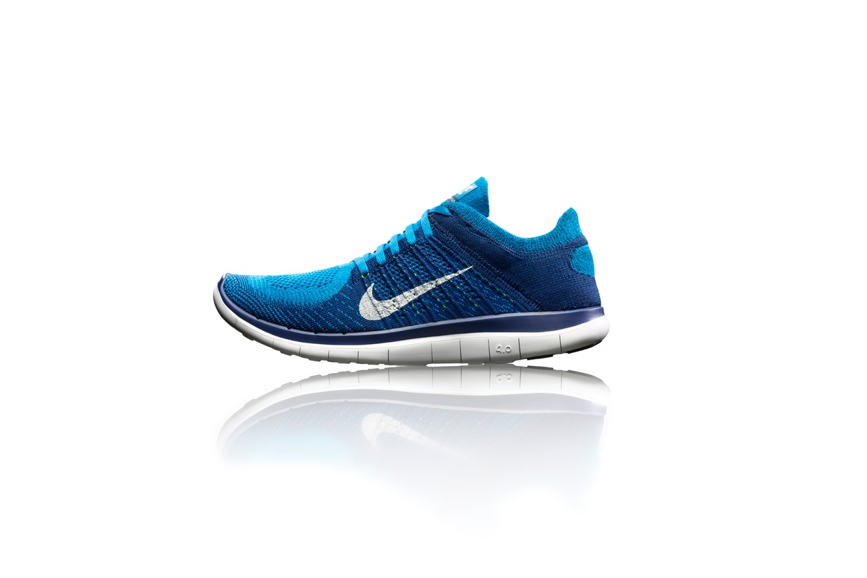 Nike Free Flyknit 4.0 mens side profile 28063