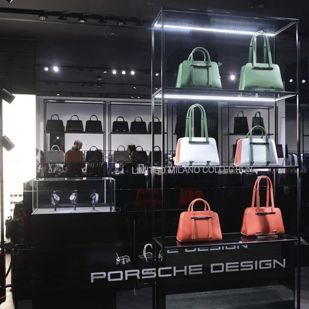 Porsche Design Group apre a Milano in via della Spiga