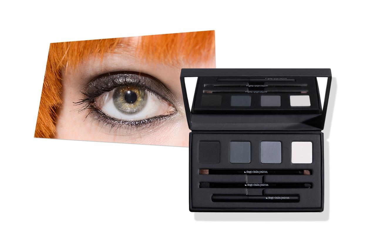 SHIMMER BLACK: punta su un classico il make up firmato Veronique Branquinho, facile da realizzare con la Palette di Diego Dalla Palma