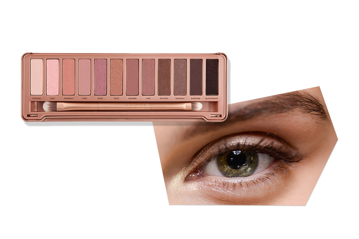 TUTTE LE SFUMATURE DEL ROSA: smokey eyes nude dal finish luminoso (Dolce&Gabbana – Urban Decay)
