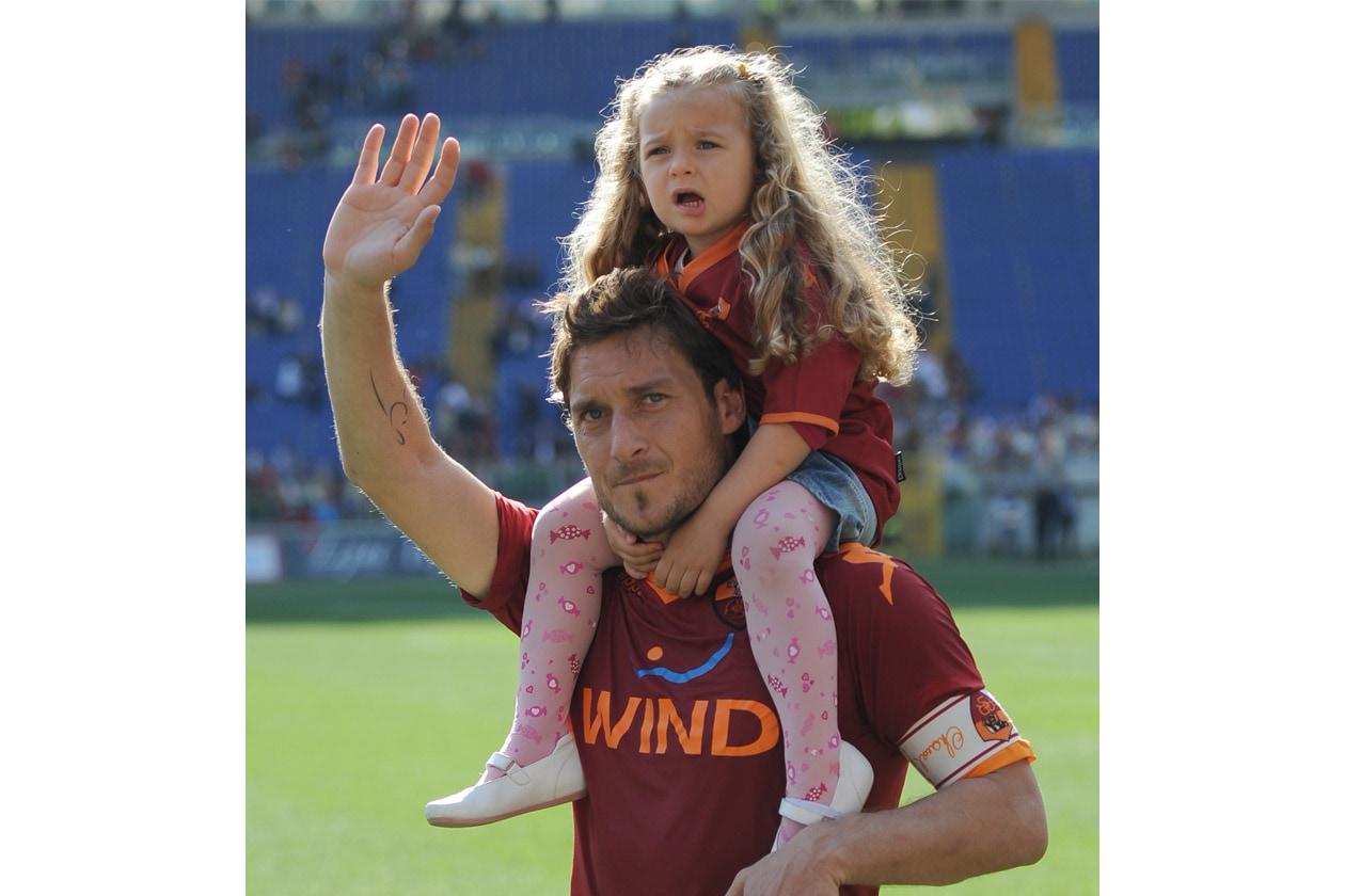 Come dimenticare poi Chanel Totti, figlia del capitano della Roma Francesco Totti e di Ilary Blasi