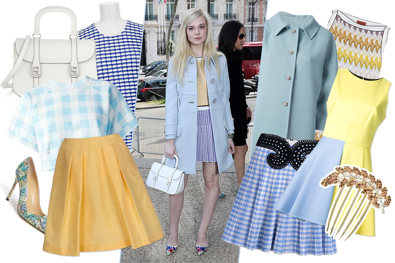 Fashion Get the Look Elle Fanning 00 Cover collage