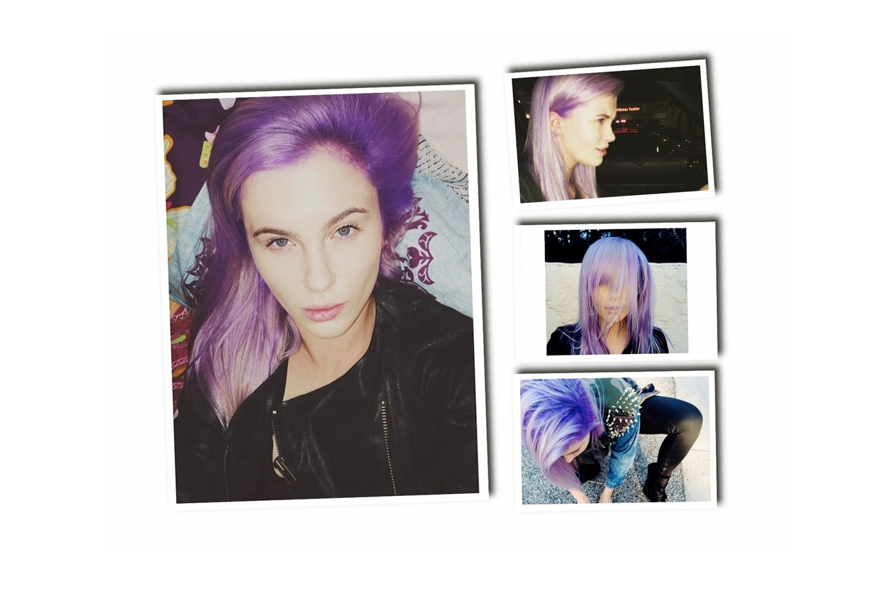 Capelli lilla: le star scelgono la tinta viola chiaro come Ireland Baldwin, Nicole Richie e Kelly Osbourne
