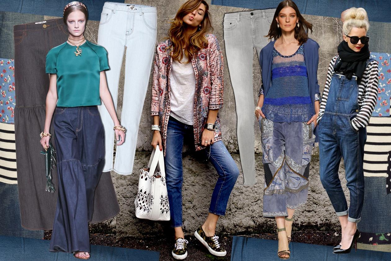 I jeans della PE 2014