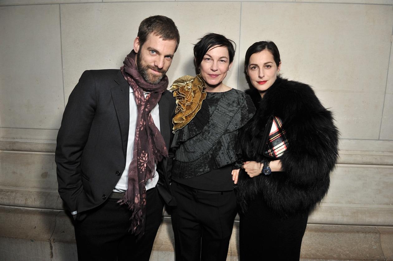 Joseph Logan, Elizabeth Peyton & Amira Casar