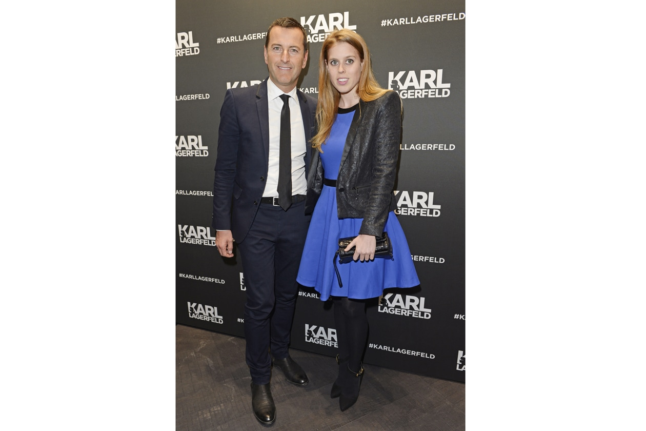 PIER PAOLO RIGHI & PRINCESS BEATRICE