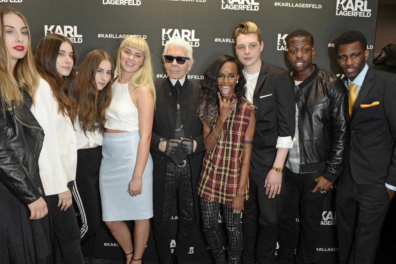 HAIM, SASHA KEABLE, KARL LAGERFELD, ANGEL HAZE, JOHN NEWMAN, JAMAL EDWARDS, WRETCH 32