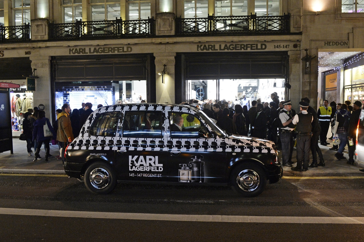 KARL LAGERFELD TAXI