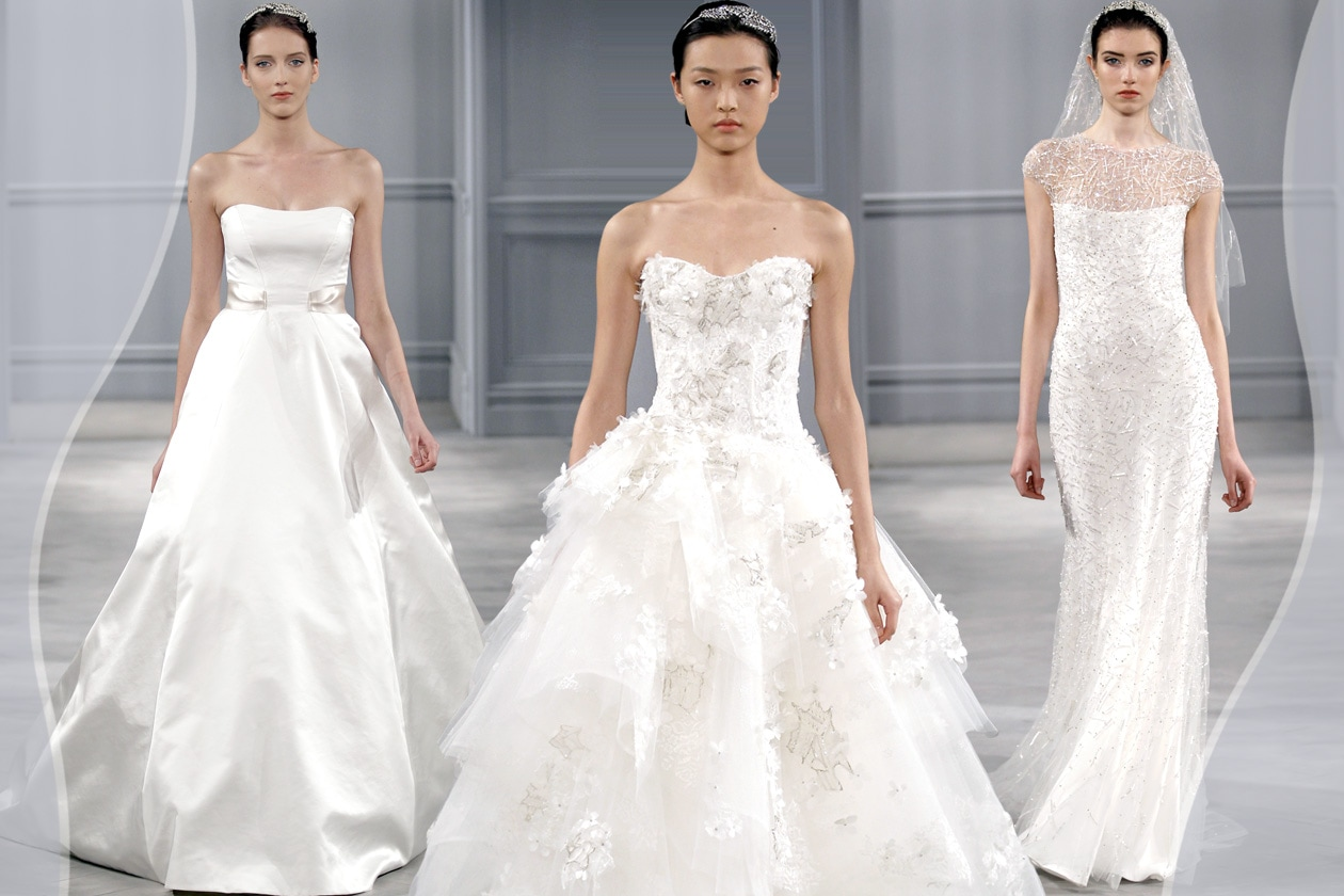 Monique Lhullier Bridal Collection 2014