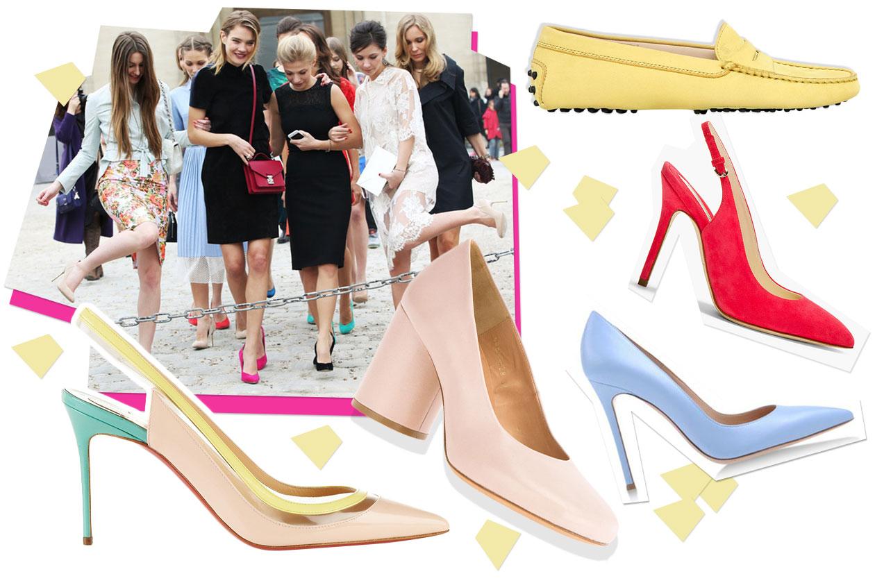 Fashion Che scarpe metto Pastello