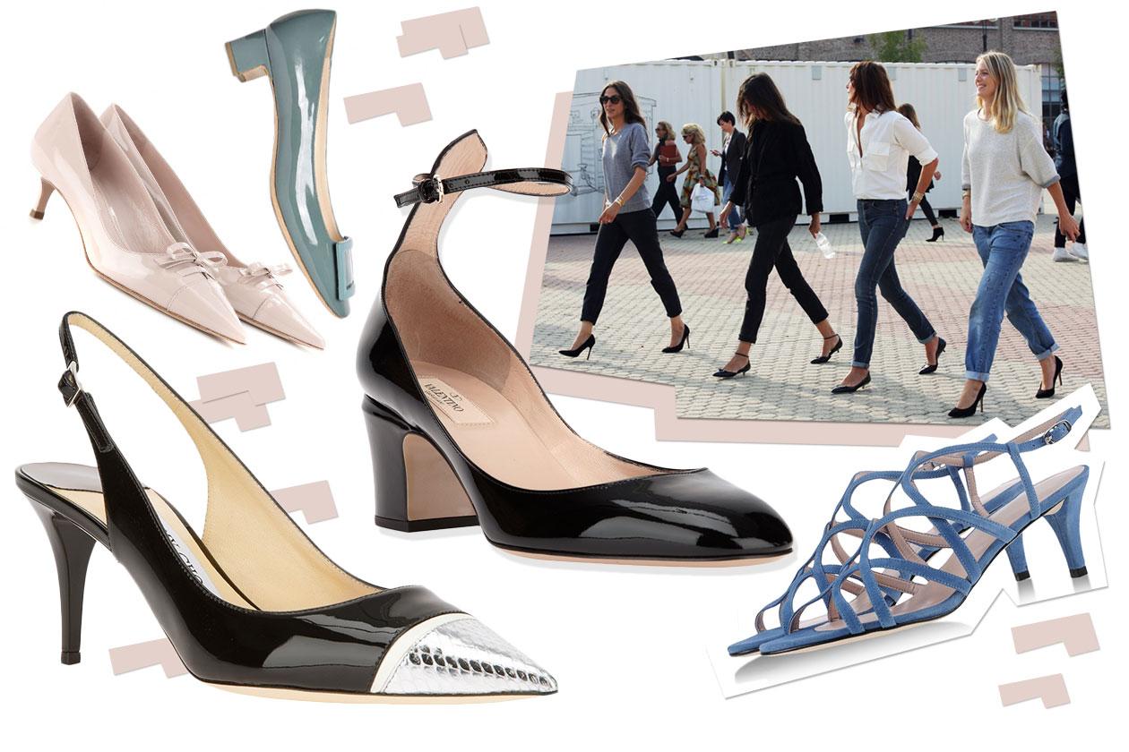 Fashion Che scarpe metto Mid heel