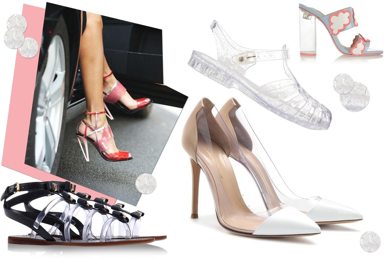 Fashion Che scarpe metto Plastic
