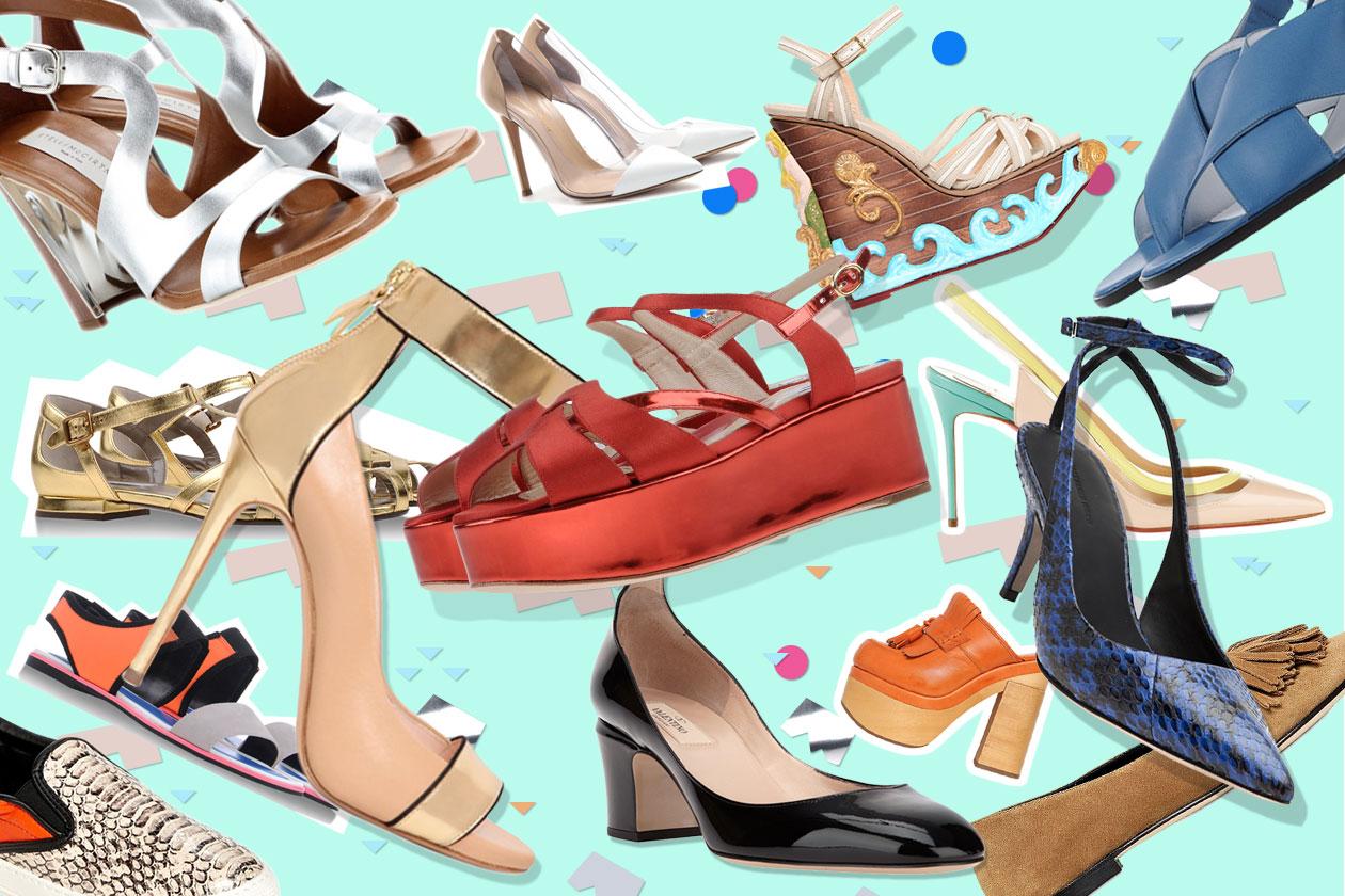 Fashion Che scarpe metto 00 Cover collage