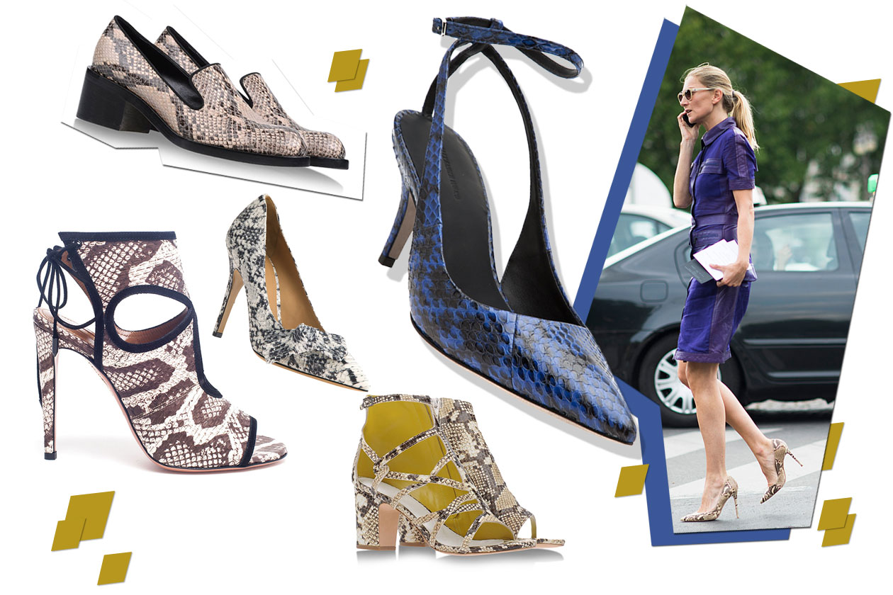Fashion Che scarpe metto Pitone