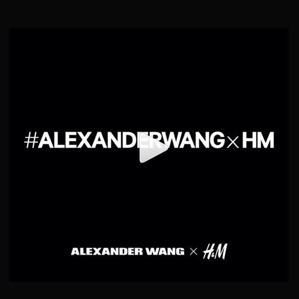 Alexander Wang annuncia la collaborazione con H&M