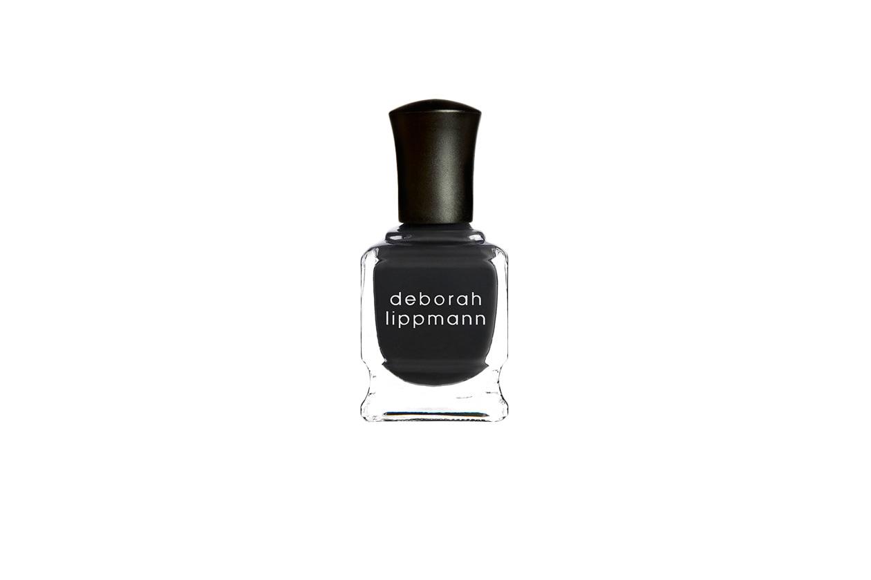 BEAUTY Dark Nails Deborah Lippmann STORMY WEATHER