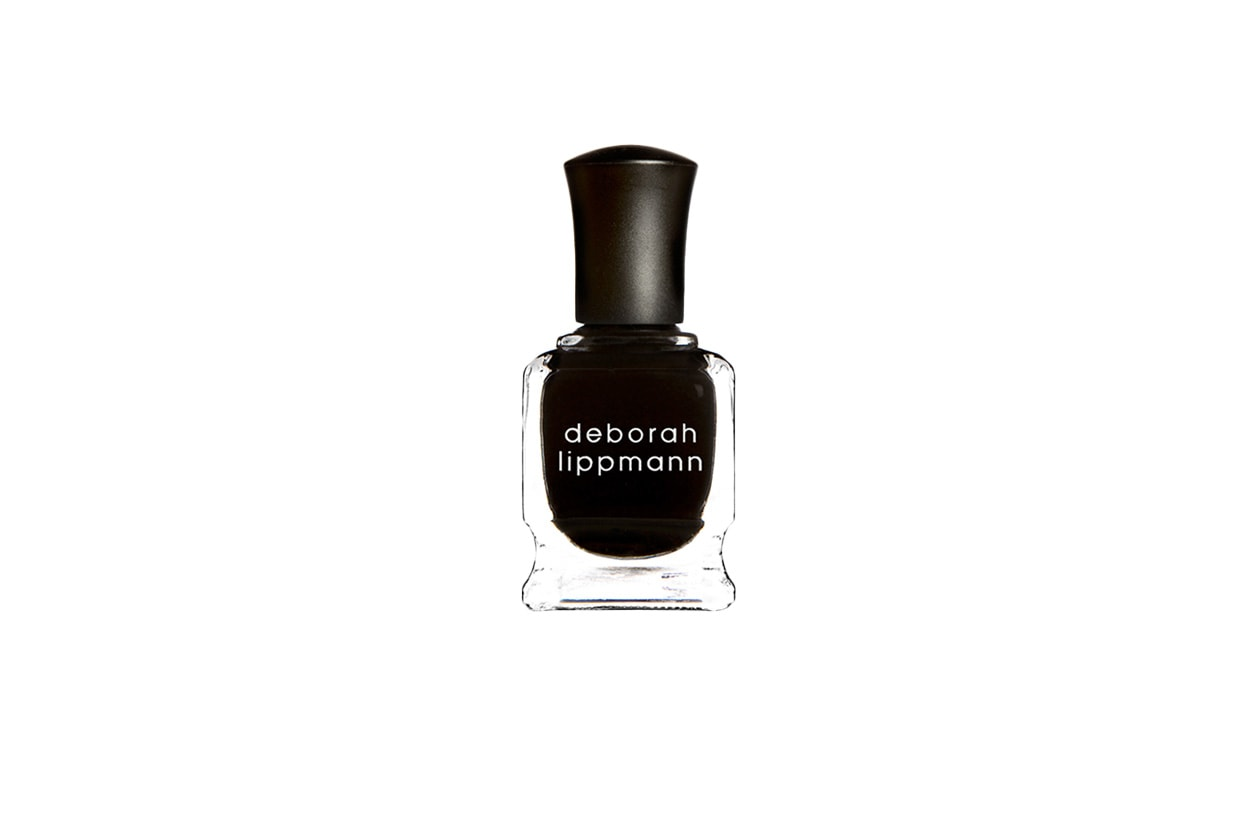 BEAUTY Dark Nails deborah lippmann fade to black