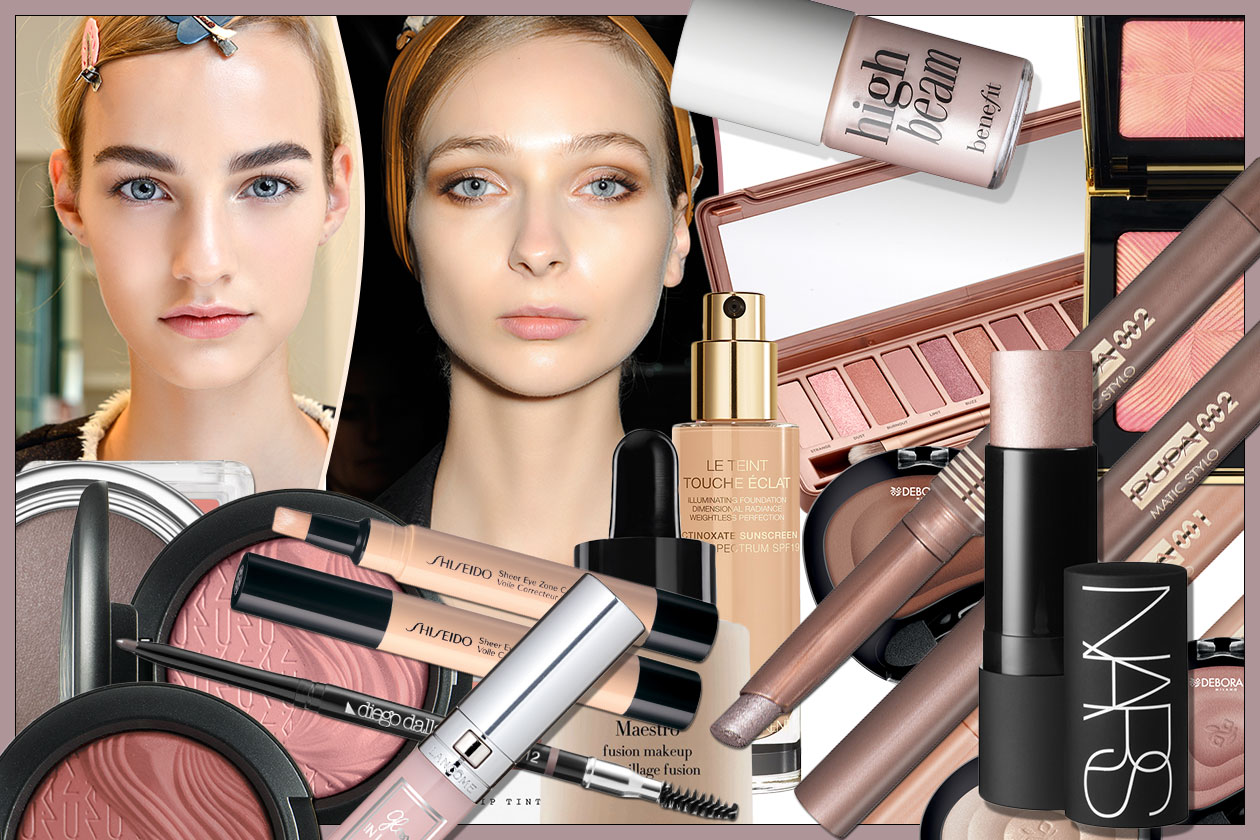 BEAUTY GLOWING NUDE MAKE UP 00 Cover collage