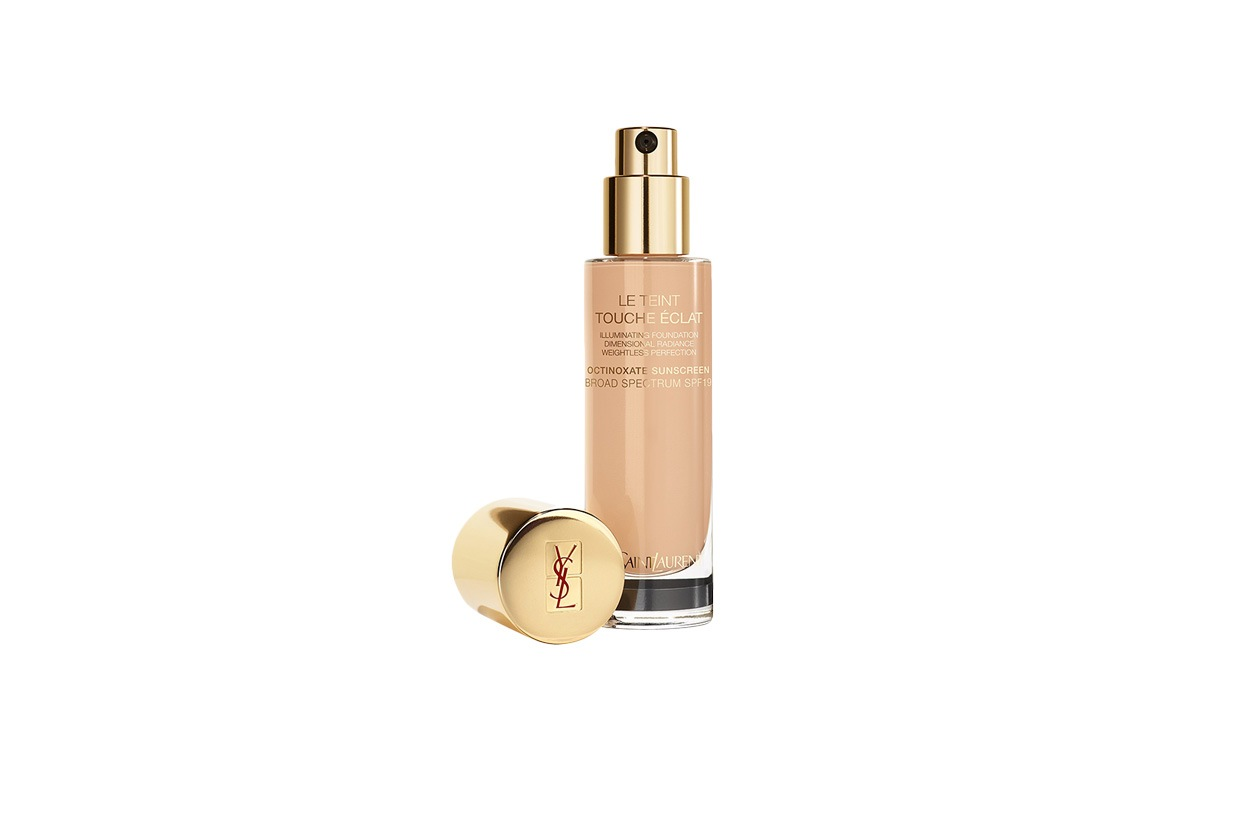 BEAUTY GLOWING NUDE MAKE UP YSL LE TEINT TOUCHE ECLAT