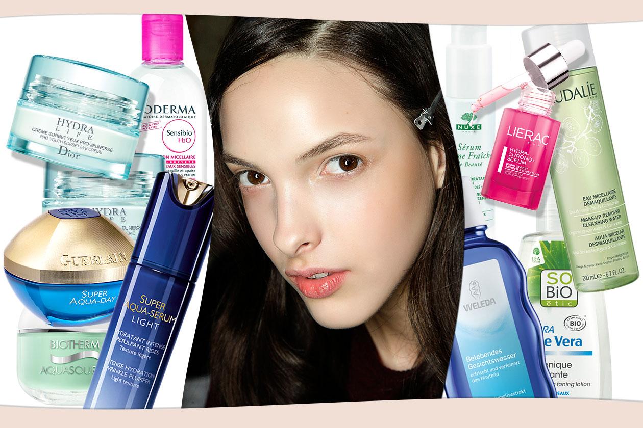 BEAUTY skincare primavera 00 Cover collage