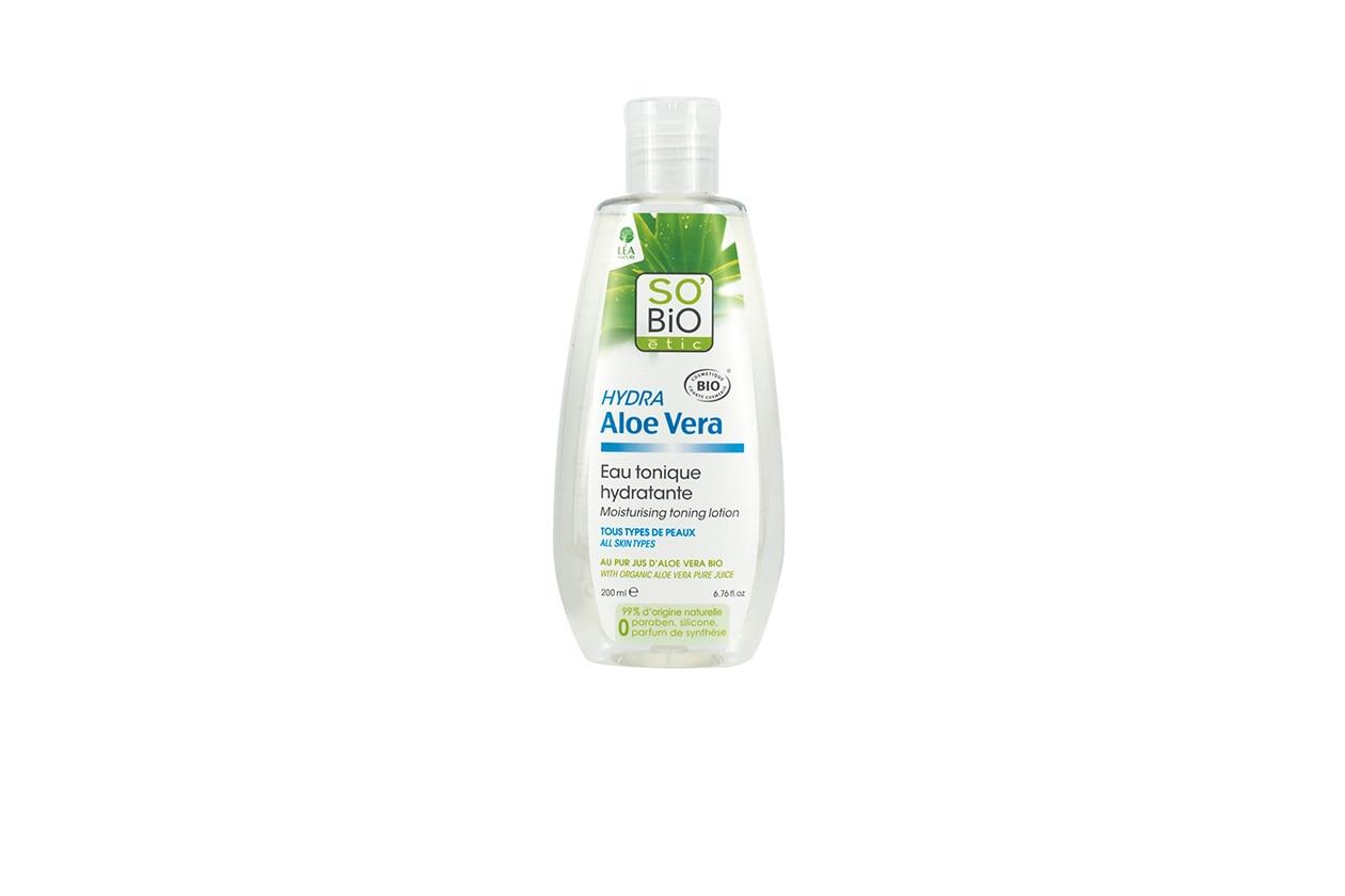 BEAUTY skincare primavera so bio etic Aloe Vera Tonico Idratante