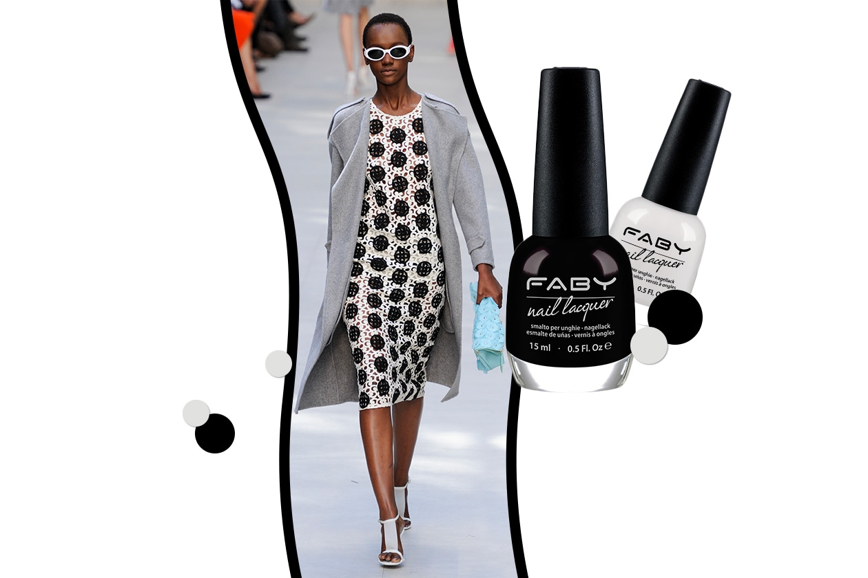 Beauty black&white Burberry Prorsum