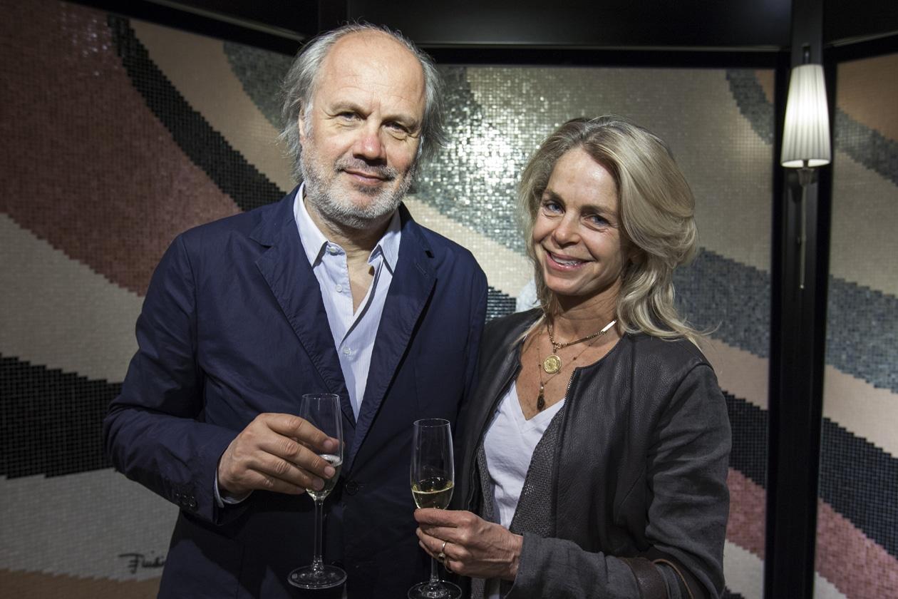 Bisazza wears Emilio Pucci Aldo Cibic Cynthia Rising