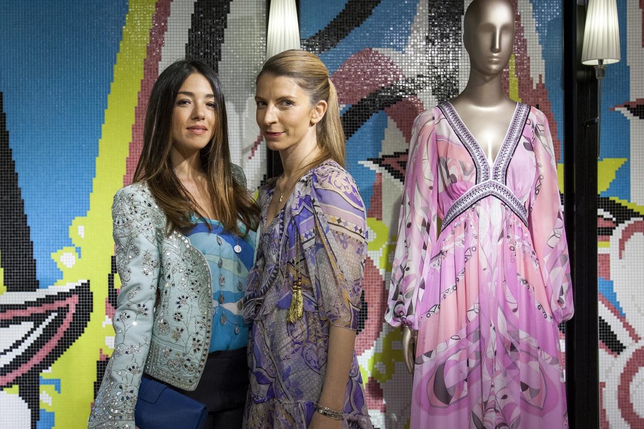 Bisazza wears Emilio Pucci Valentina Scambia Virginia Galateri