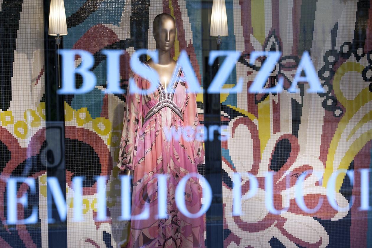Bisazza wears Emilio Pucci