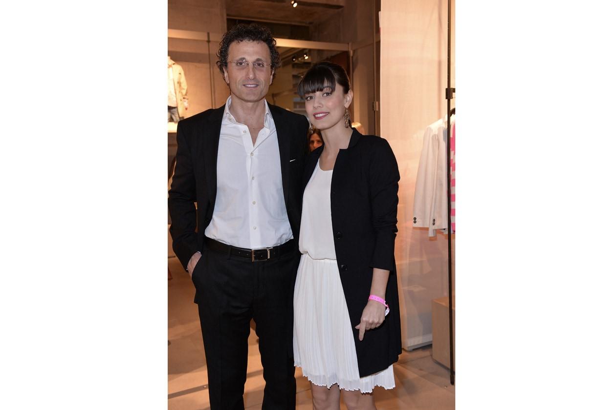 CEO Benetton Group Biagio Chiarolanza e Alessandra Mastronardi
