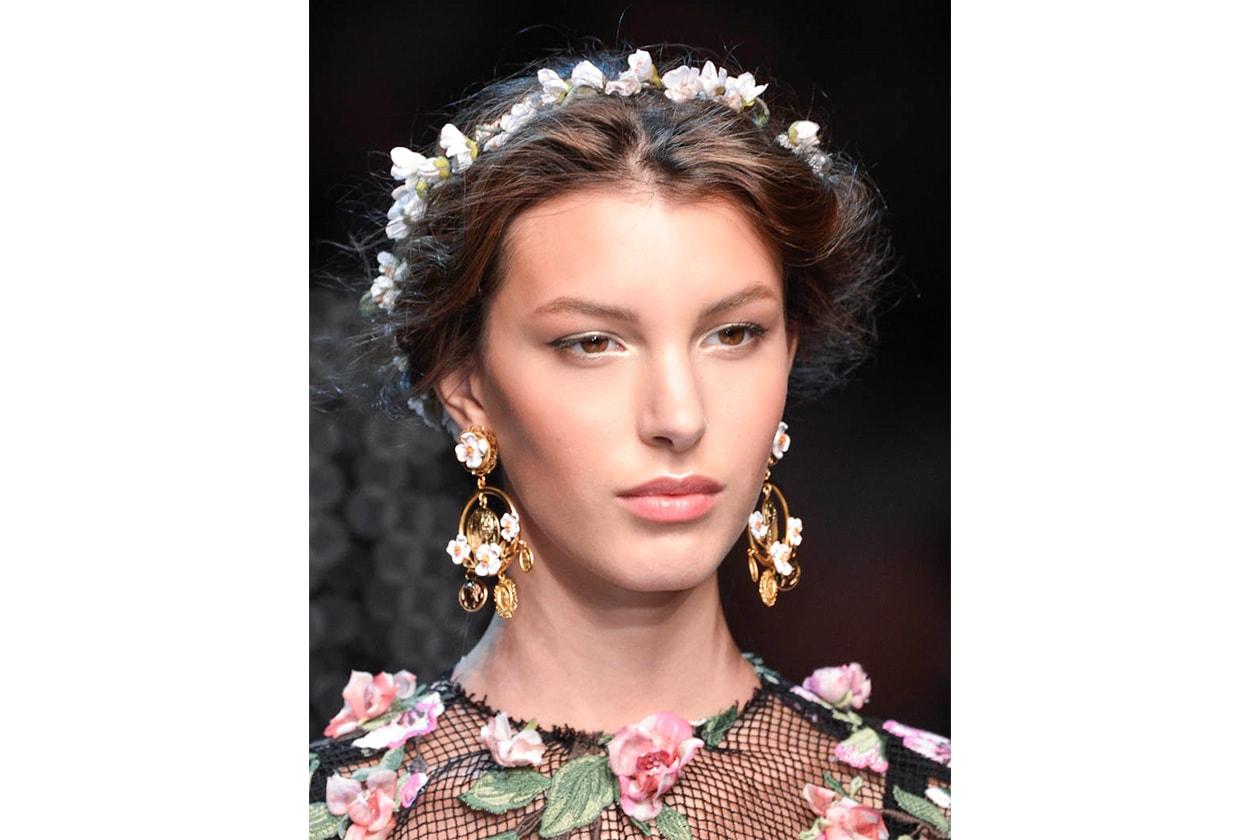 Fashion accessori per capelli sposa Dolce Gabbana bty W S14 M 005