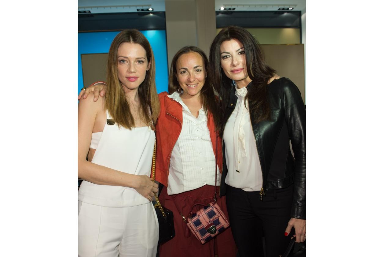 Gaia Trussardi, Camila Raznovich e Ilaria D'Amico