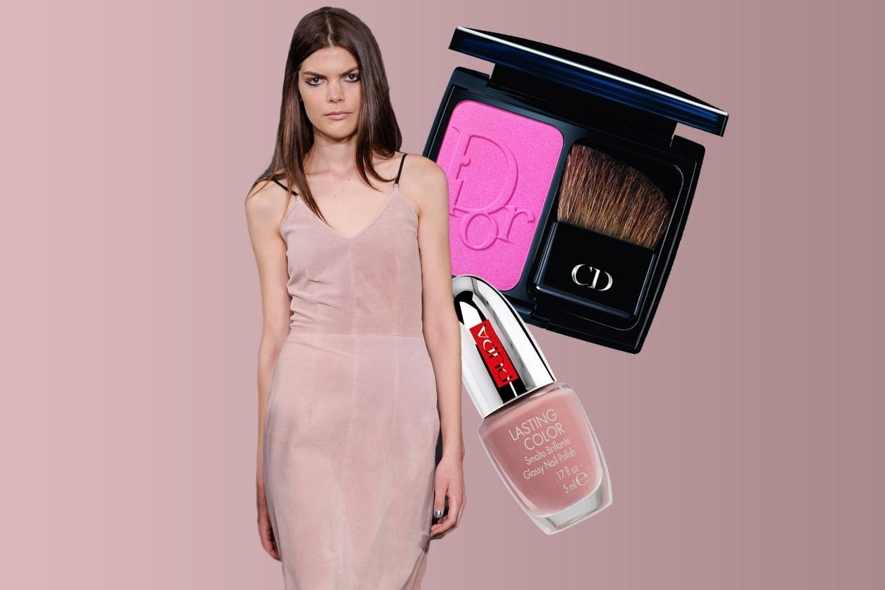 IL ROSA PRIMAVERILE: semplicità vestita di massima eleganza (Antipodium – Pupa – Dior)