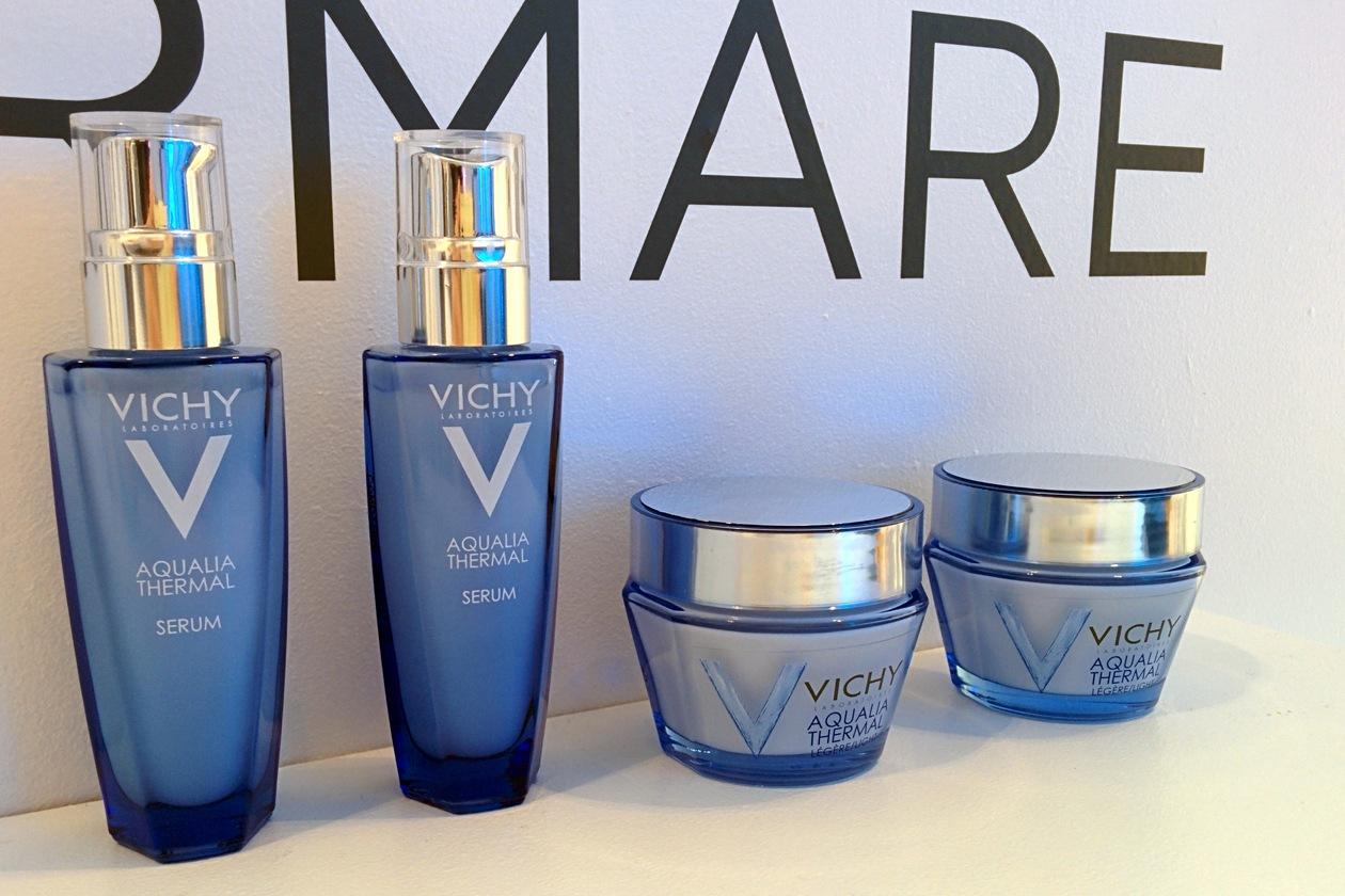 La linea Aqualia Thermal di Vichy garantisce la massima idratazione alle pelli sensibili