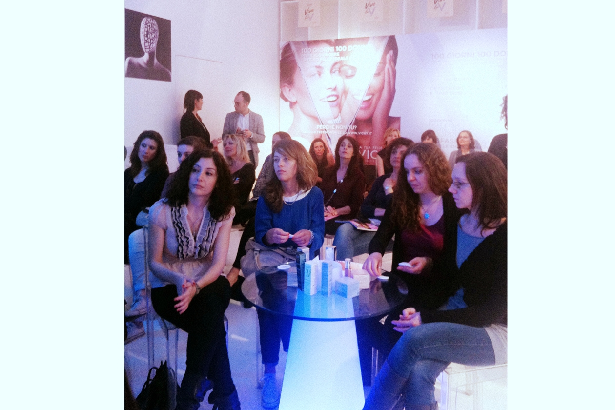 Le lettrici di Grazia ascoltano i consigli dell'esperta di bellezza di Vichy