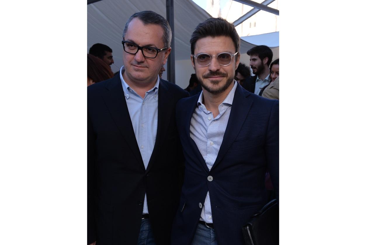 Luca Dini e Antonio Casamassima