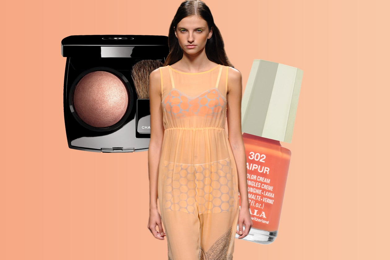 PESCHI IN FIORE: colore femminile, versatile, evergreen (Massimo Rebecchi – Mavala – Chanel)