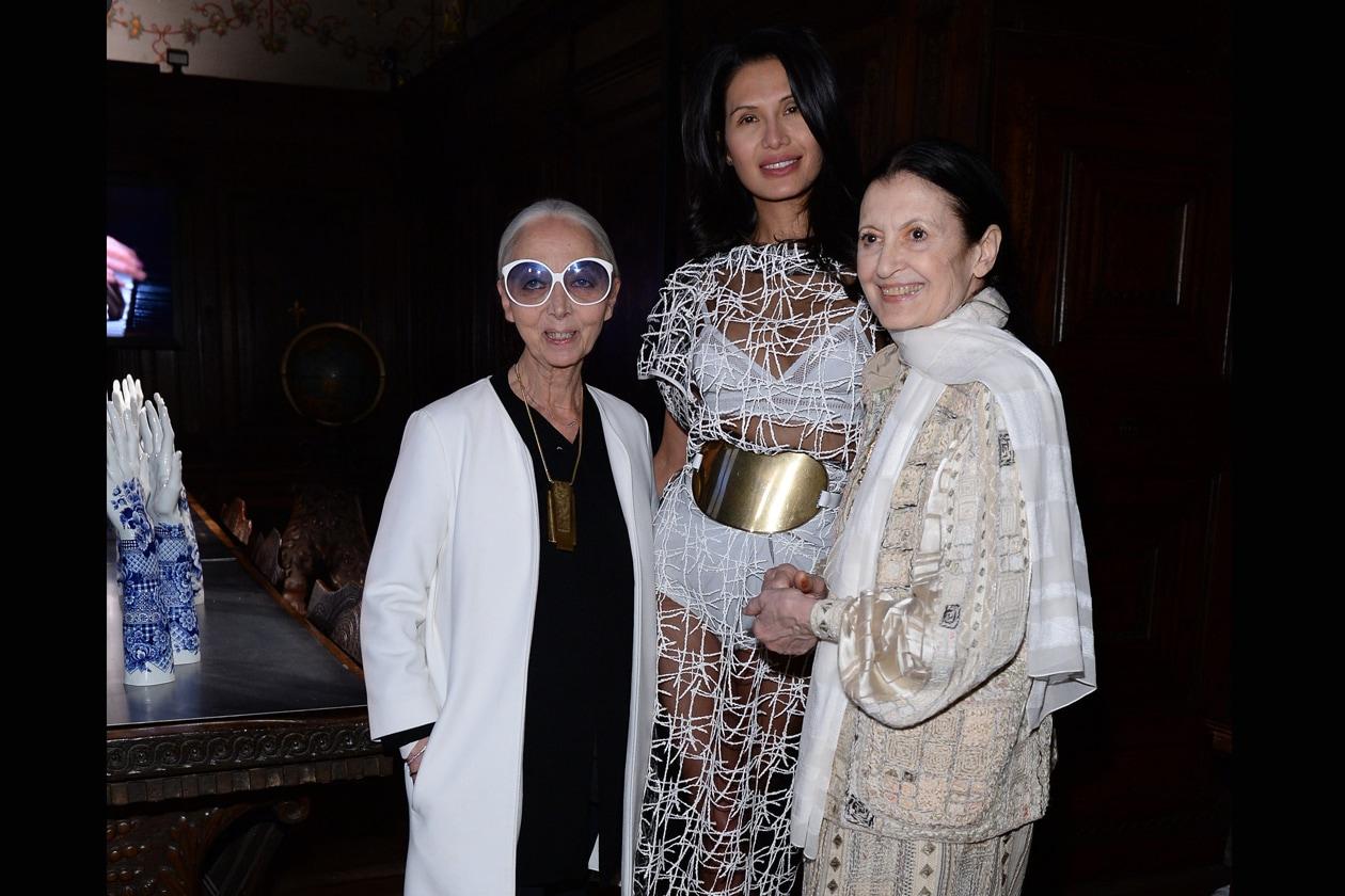 Rossana Orlandi, Goga Ashkenazi and Carla Fracci