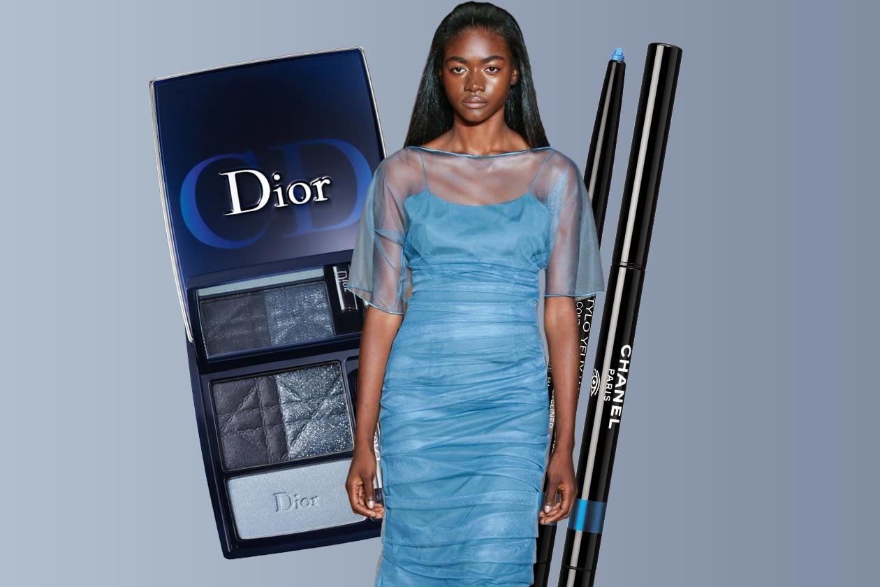 SUI COLORI DEL MARE: un mix di colori marini in anticipo sull'estate (Douglas Hannant – Chanel – Dior)