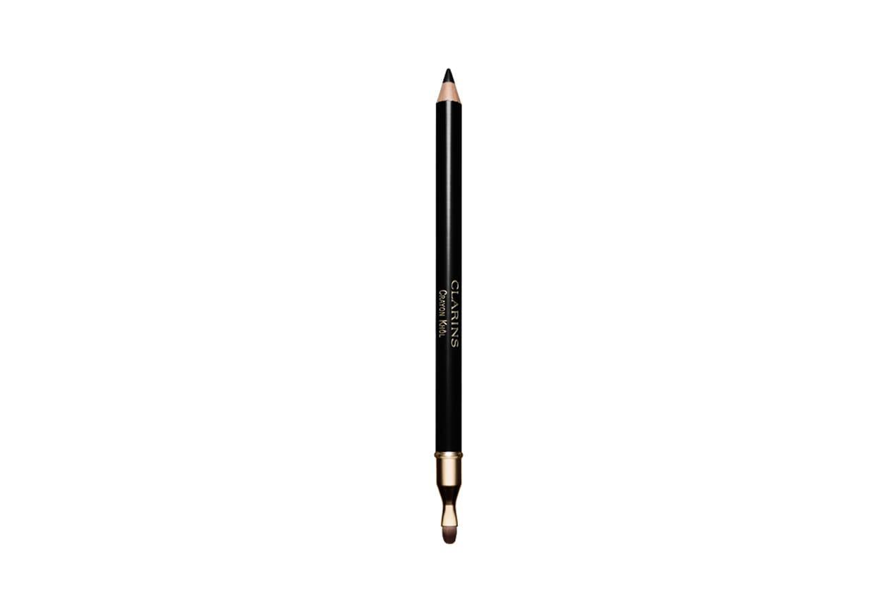 Sottolineate il contorno occhi con il Crayon Khol 01 Intense Black di Clarins